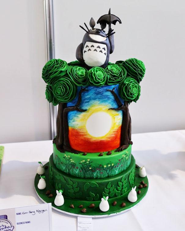 Totoro Cakes 19