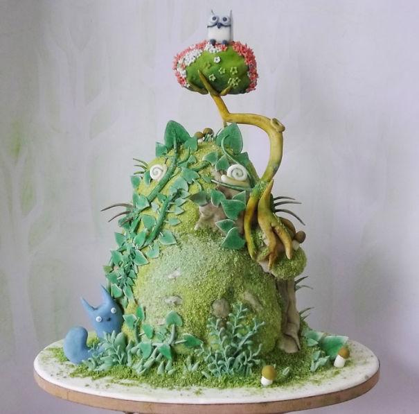 totoro cake 4