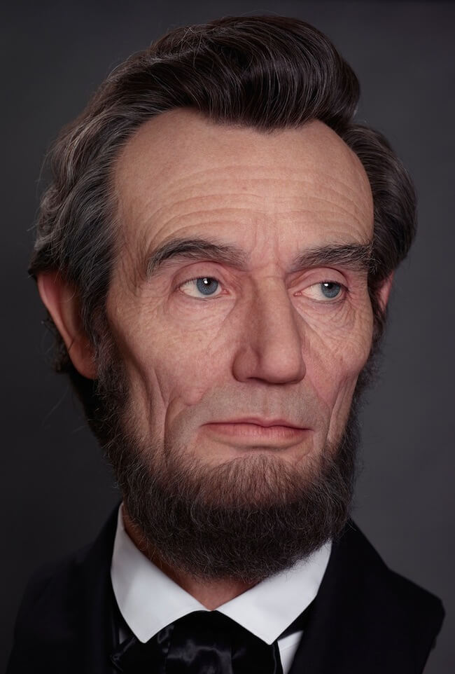 realistic sculpture of abraham lincoln 4