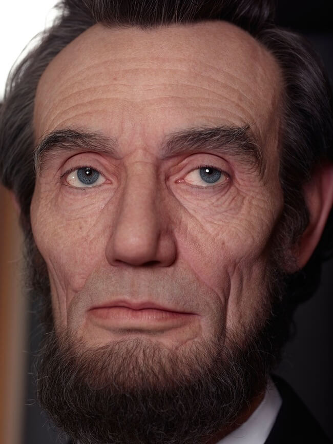 realistic sculpture of abraham lincoln 5