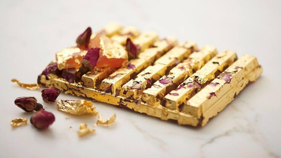 24 Karat Gold Kit-Kat Bar (1)