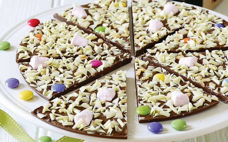 Gourmet Chocolate Pizza feat