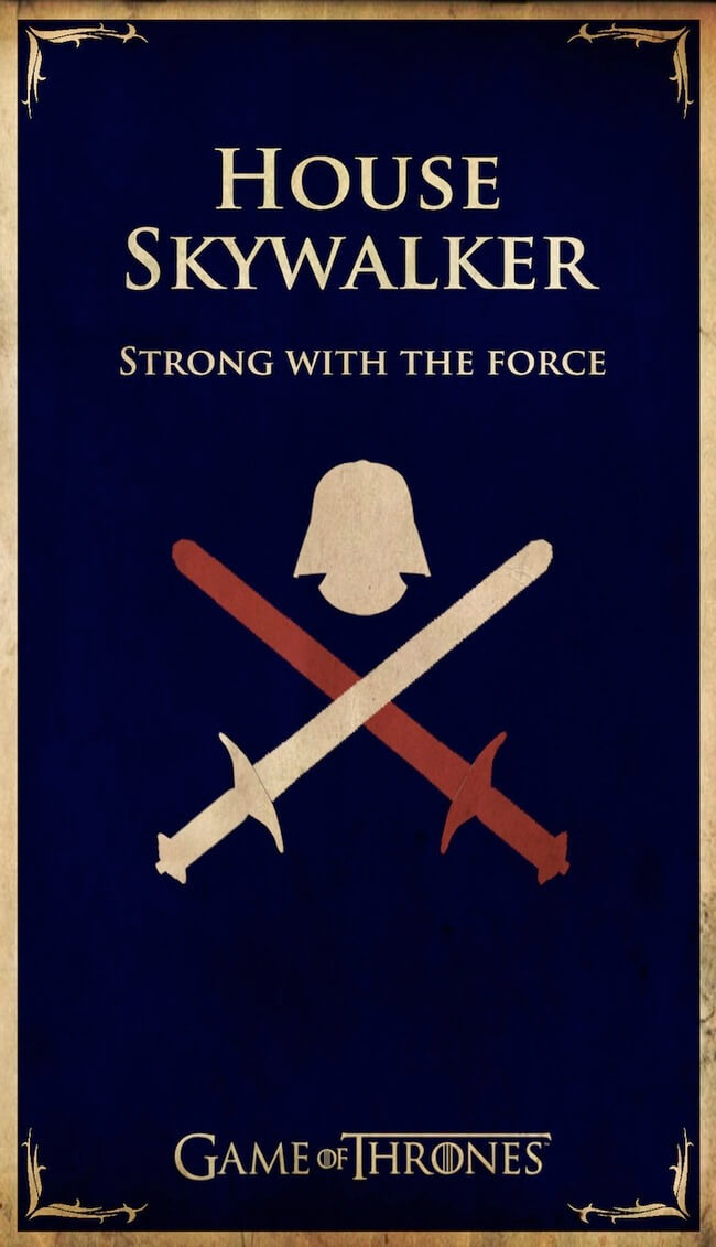 Game Of Thrones House Posters As Pop Culture Icons 14