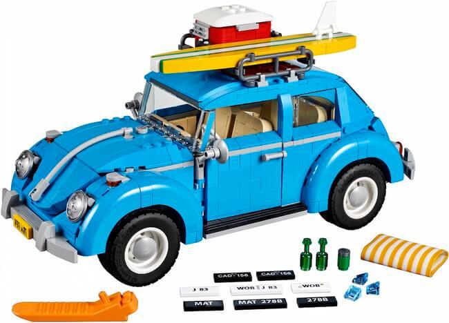 Vintage lego Volkswagen Beetle 1