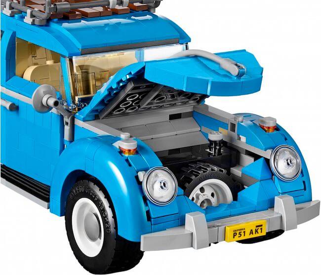 Vintage lego Volkswagen Beetle 6