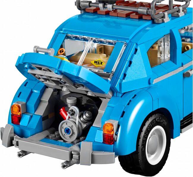 Vintage lego Volkswagen Beetle 5