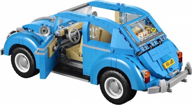 Vintage lego Volkswagen Beetle 3