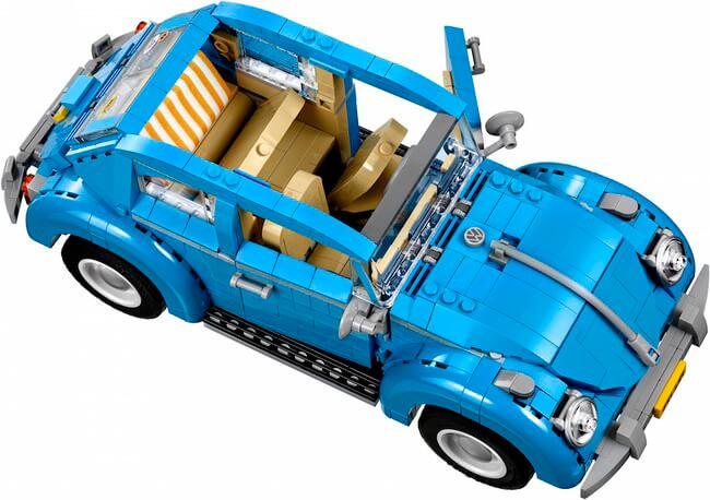 Vintage lego Volkswagen Beetle 4