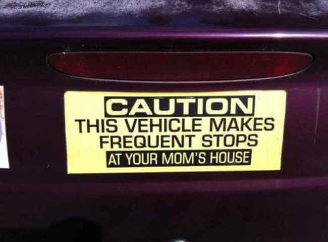 funny bumper stickers 26