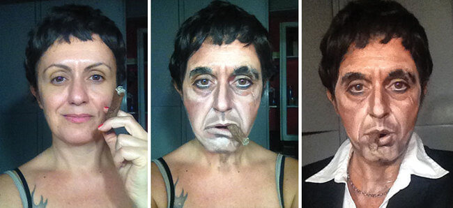 Amazing Makeup Transformations By Lucia Pittalis Who Turns