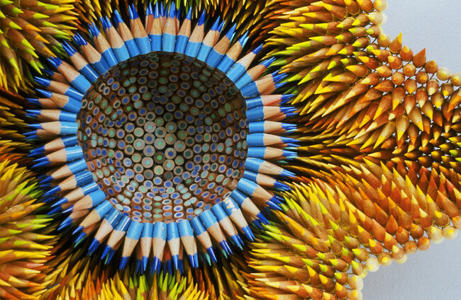 Amazing Sculptures Made From Pencils 8