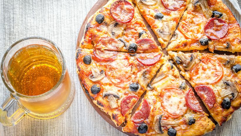 Пицца пиву рецепт фото