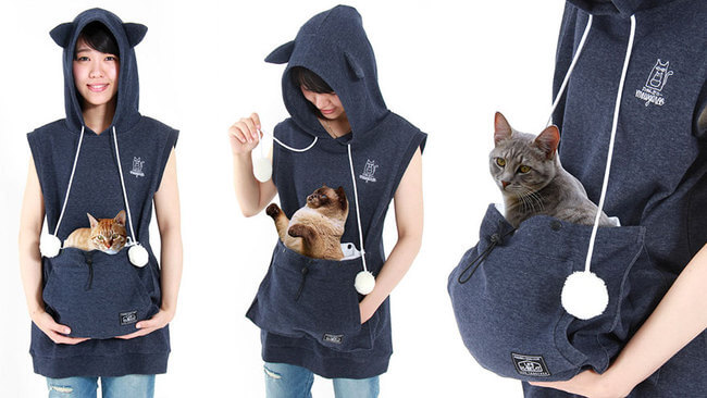 cat hoodie pouch 1