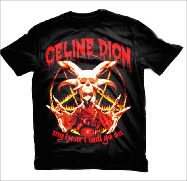 pop stars Heavy Metal T shirts 1