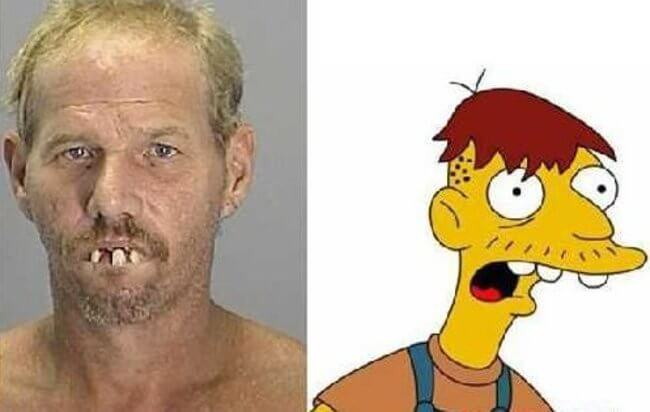 People who look like Simpson characters 7