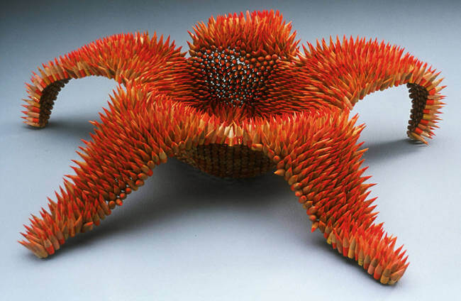 Jennifer Maestre pencil sculptures 3