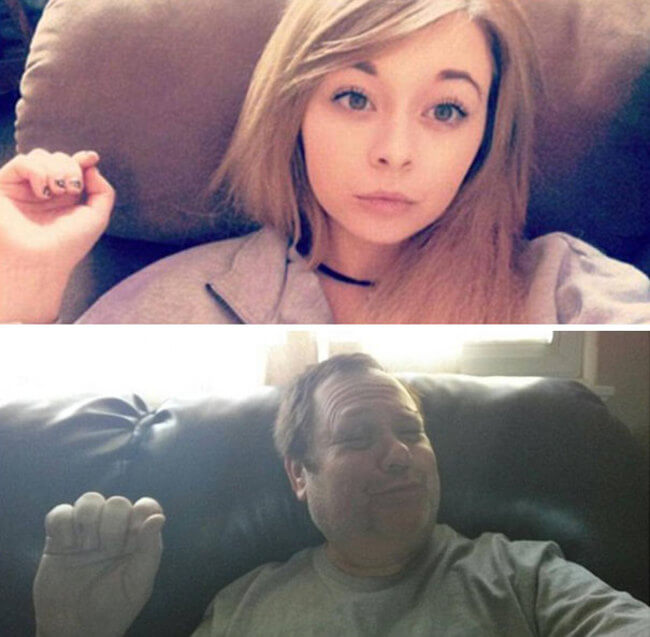 Dad Trolls Daughter 5