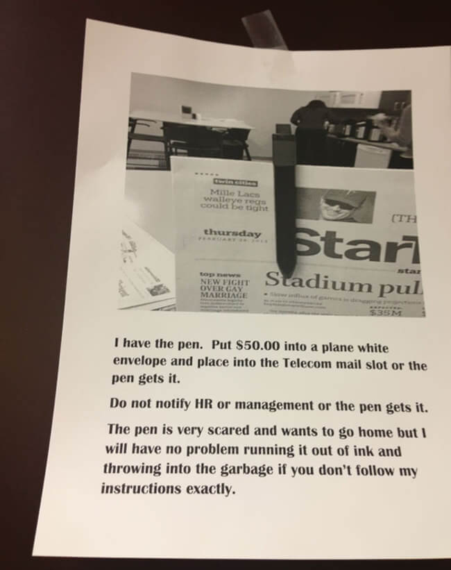 funny Office Notes 9