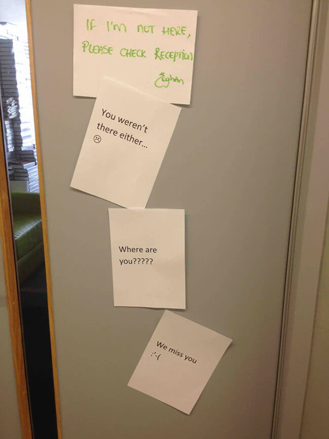 funny Office Notes 8
