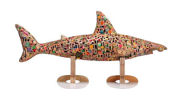 haroshi skateboard sculptures 7