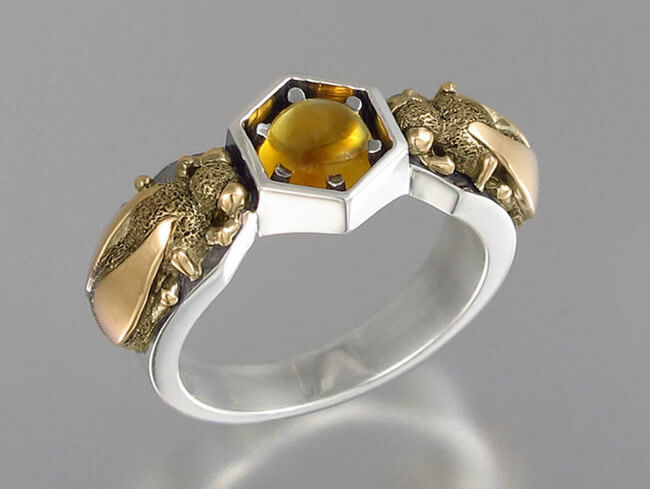 lion honeycomb jewelry 6