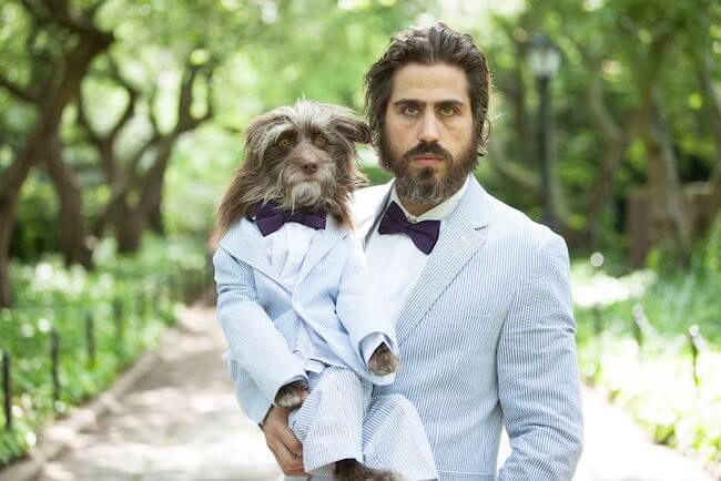 dogs and their dads portraits 1
