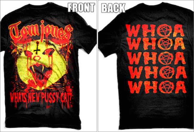 pop stars Heavy Metal T shirts 6