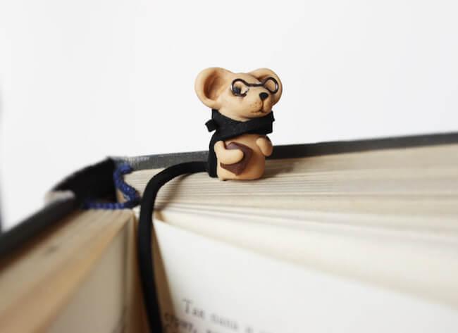 Nadia Vasileva Adorable Animal Bookmarks 1