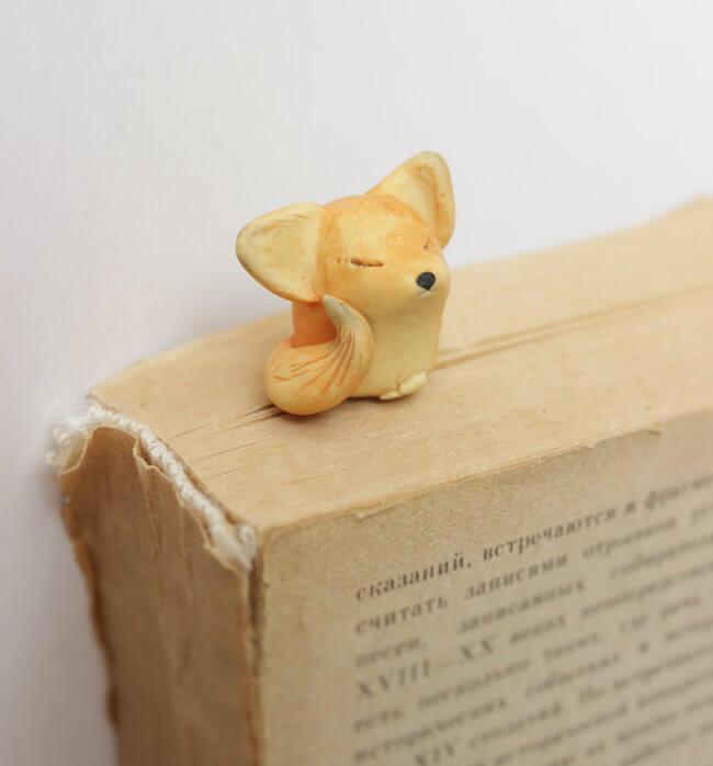 Nadia Vasileva Adorable Animal Bookmarks 8