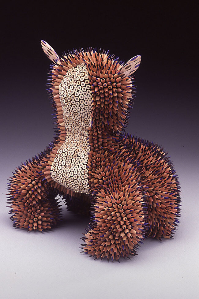 Jennifer Maestre pencil sculptures 6