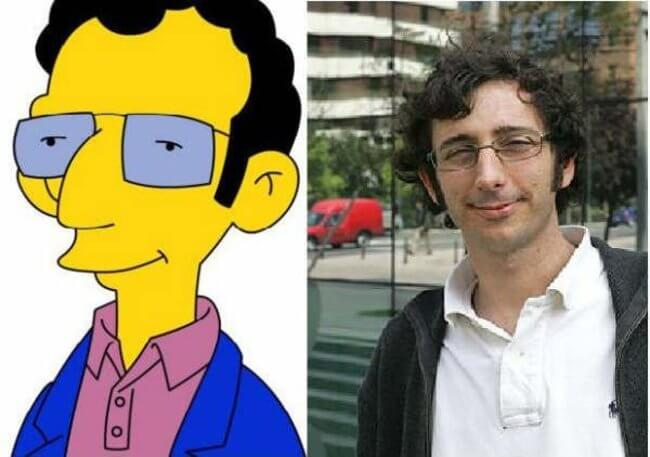 People who look like Simpson characters 9