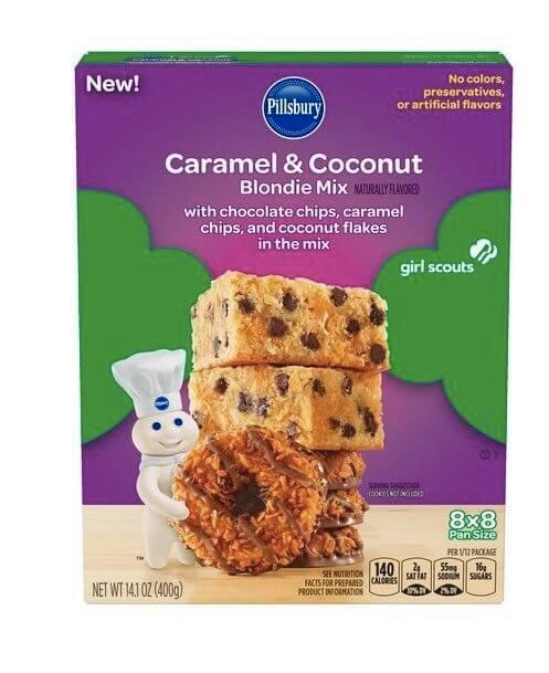 Pillsbury Girl Scout Cookie Baking Mixes 4 (1)