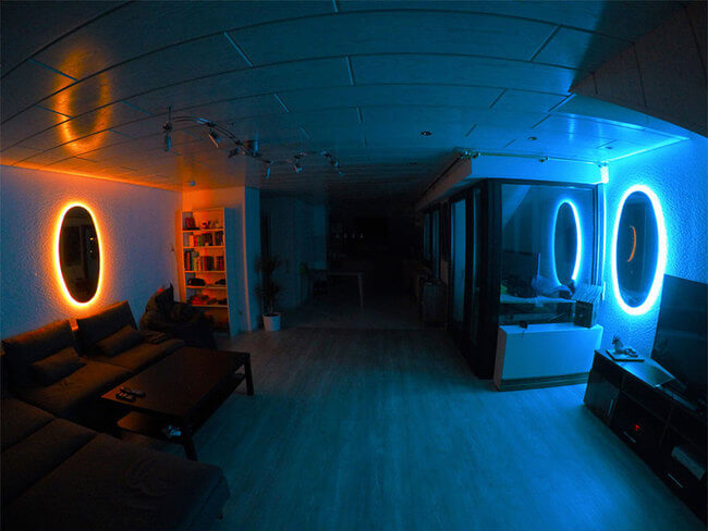 These Portal Mirrors Will Turn Any Room Into Another Dimension