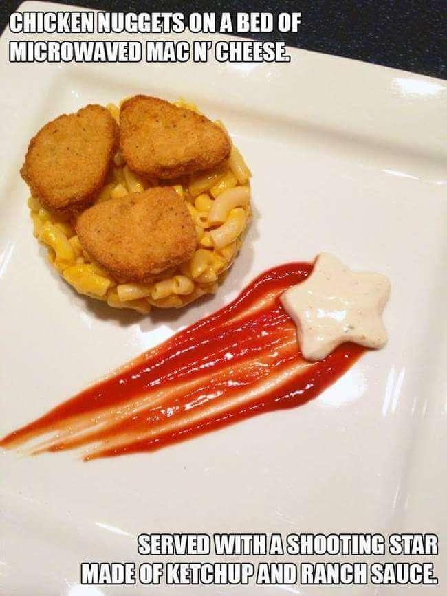 Broke Gourmet Food Plates 1