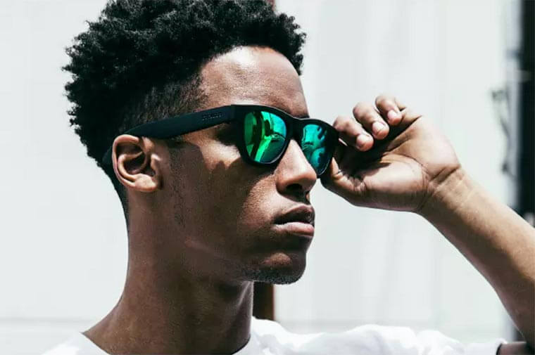 Awesome Sunglasses Have Built In Headphones That Transfers