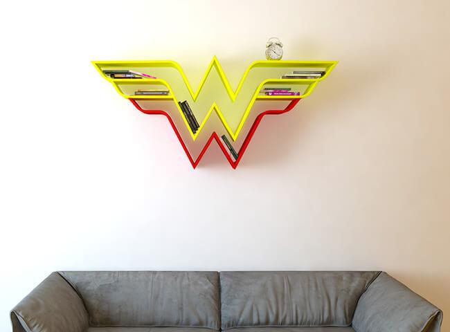 Superhero Bookshelves By Burak Doğan 6