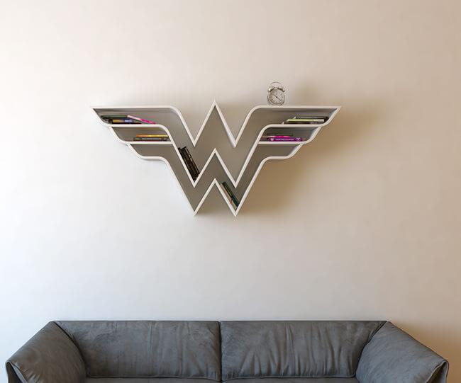 Superhero Bookshelves By Burak Doğan 5