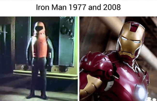 superheroes then and now - Iron man (1)