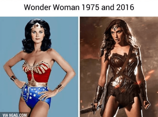 superheroe then and now - Wonder woman (1)