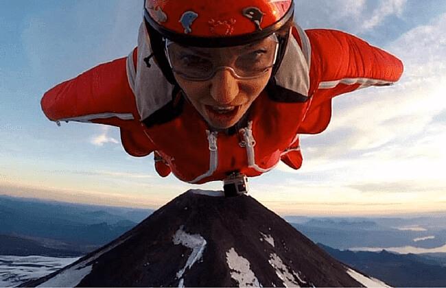 supermodel jumps into volcano feat
