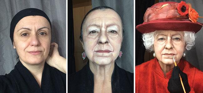 amazing makeup skills 1