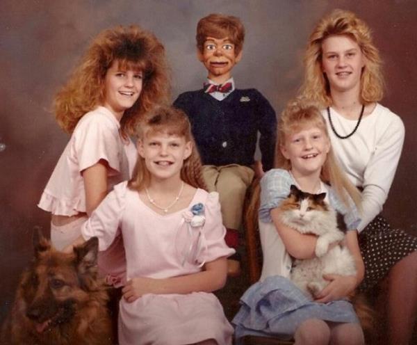 weird family photos 12