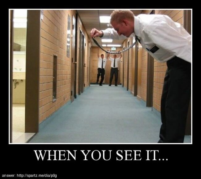 when you spot it 14