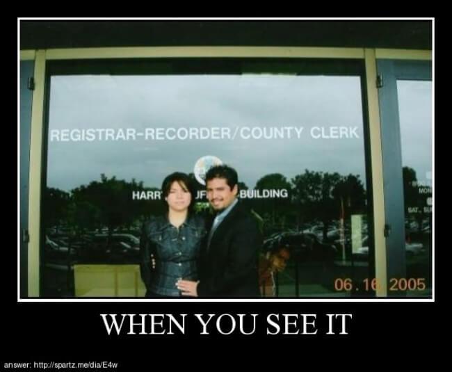 when you spot it 13