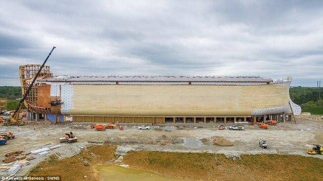 Huge life-size Noah's Ark 7