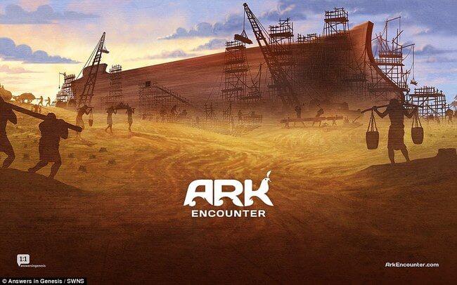 Huge life-size Noah's Ark 13