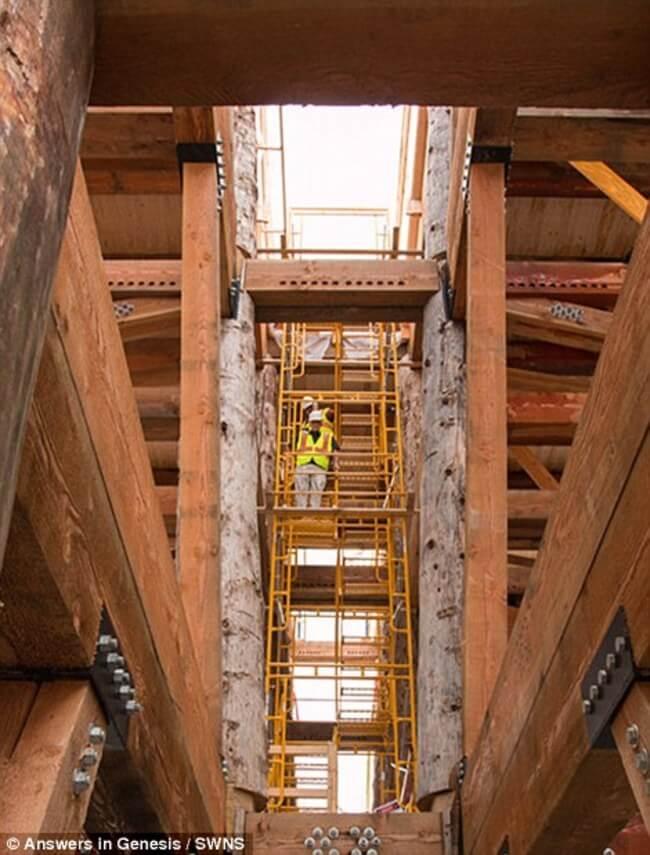 Huge life-size Noah's Ark 11