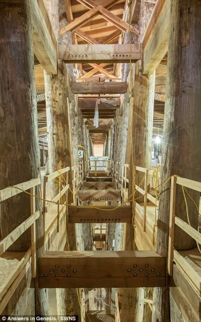 Huge life-size Noah's Ark 5