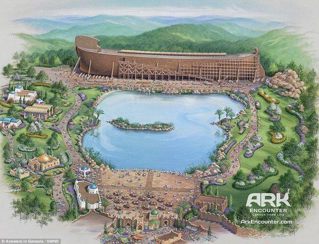 Huge life-size Noah's Ark 14