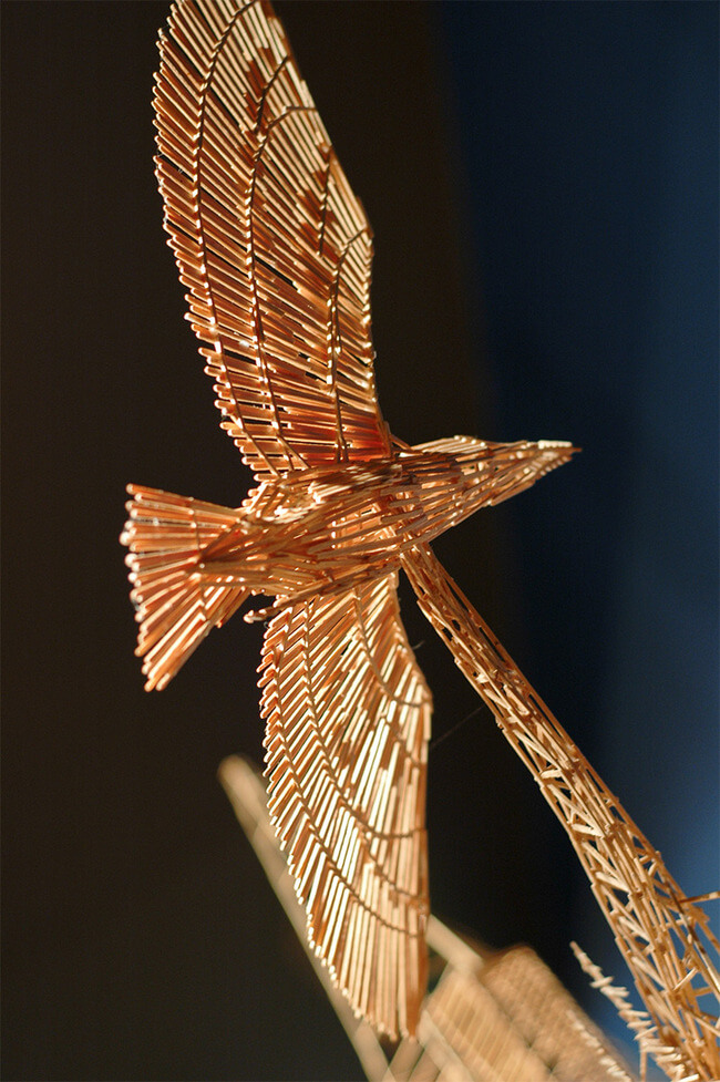 toothpick sculpture of san francisco 2